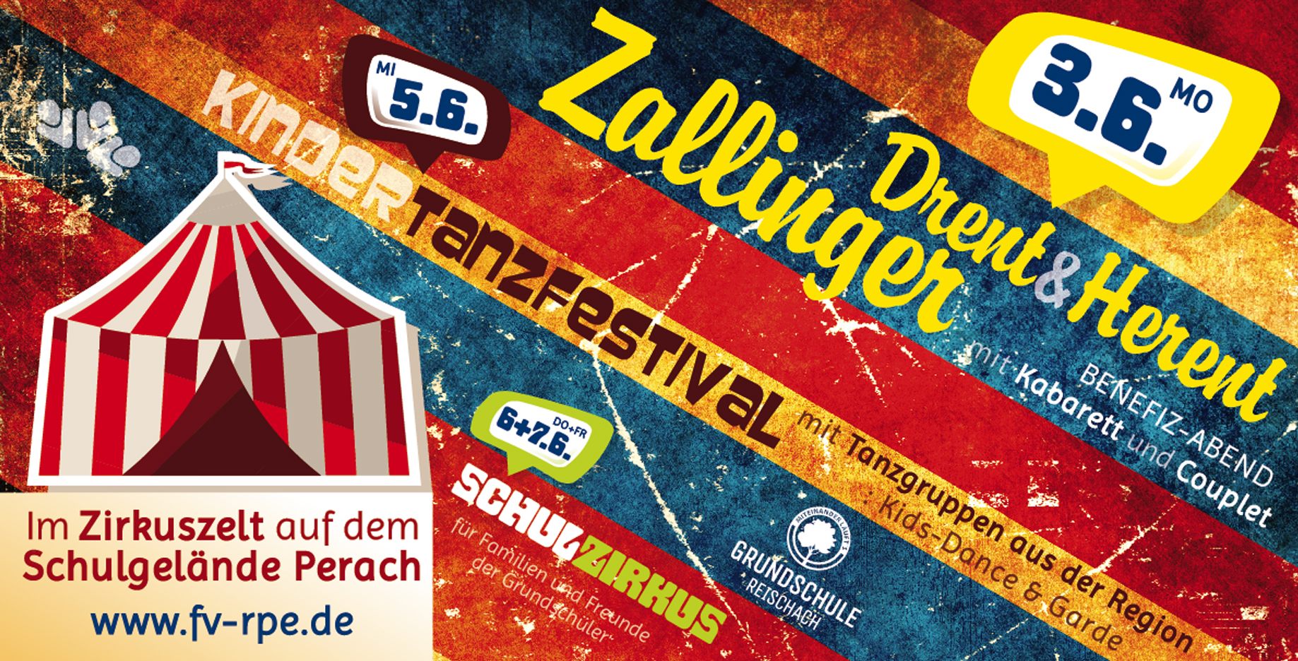 Zirkus-Banner